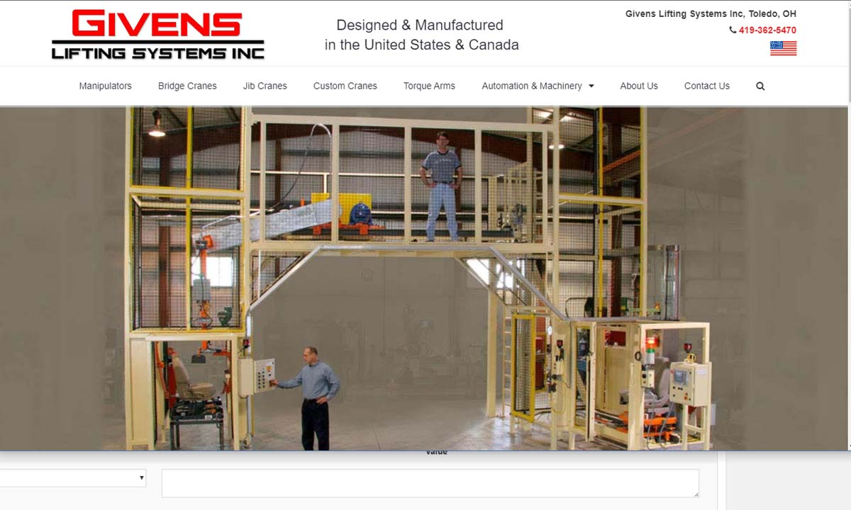 Givens Lifting Systems, Inc.