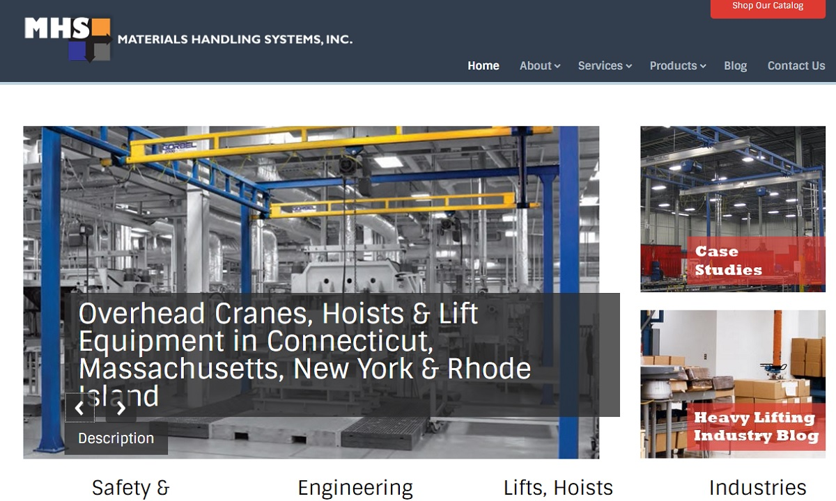 Materials Handling Systems, Inc.