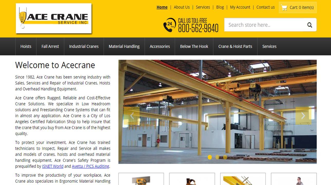 Ace Crane Service, Inc.