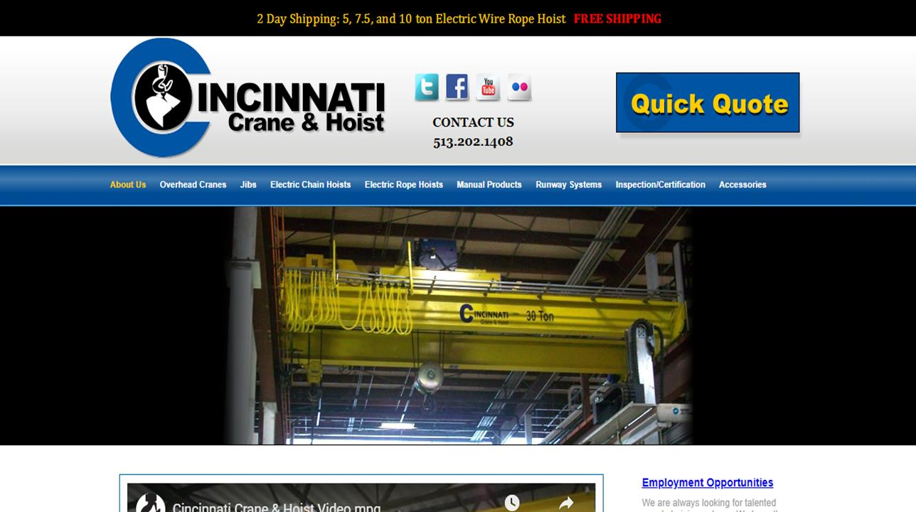 Cincinnati Crane & Hoist