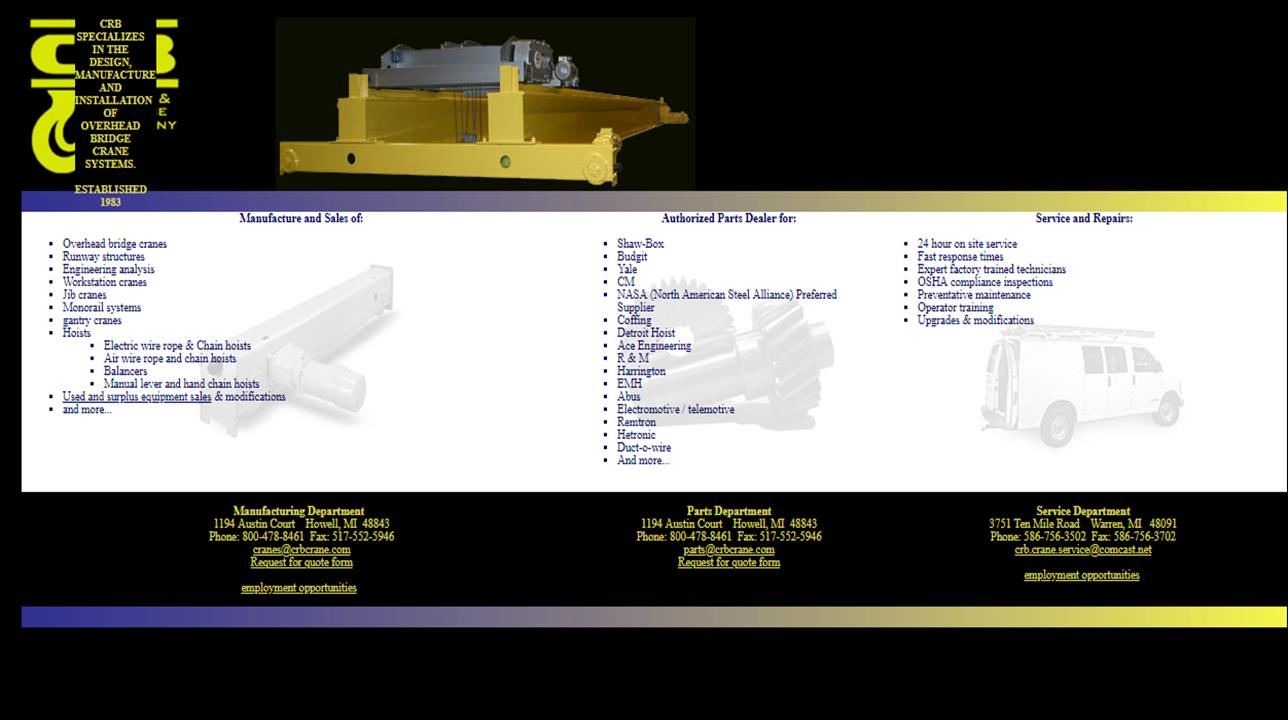 More Crane Manufacturer Listings on