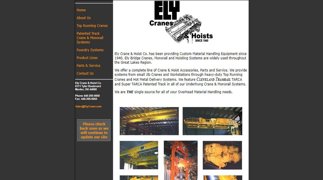 Ely Crane & Hoist Co.