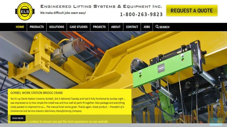 Engineered Lifting Systems