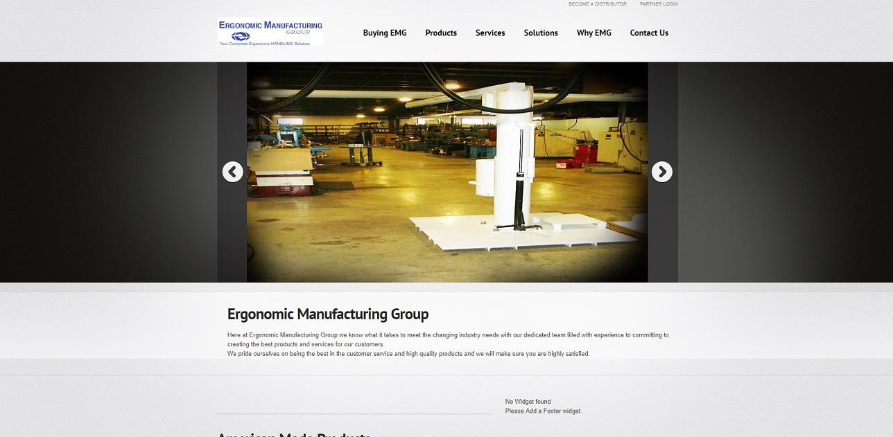 Ergonomic Manufacturing Group