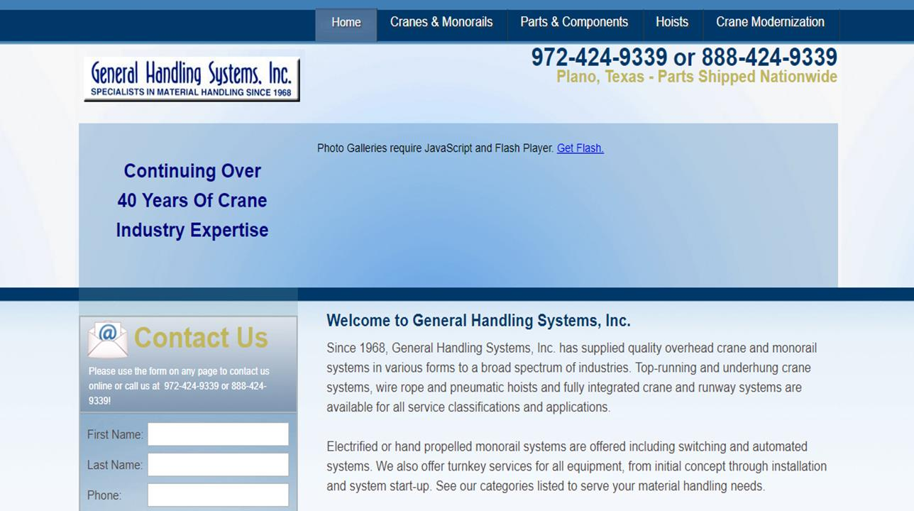 General Handling Systems, Inc.