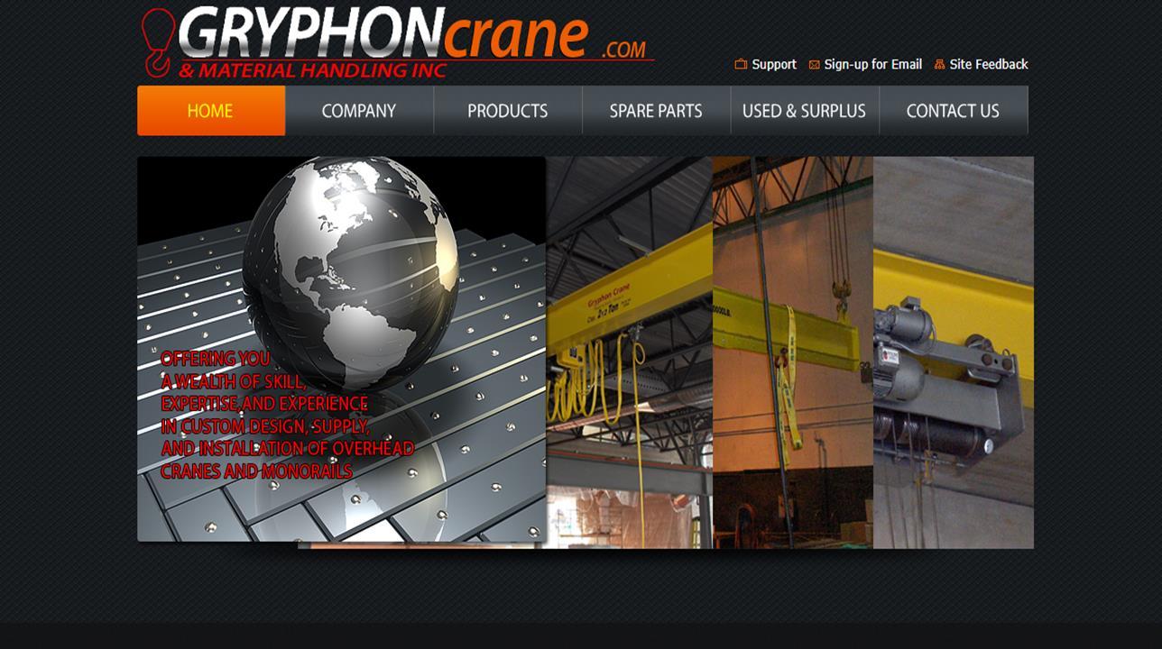 Gryphon Crane & Material Handling Inc.
