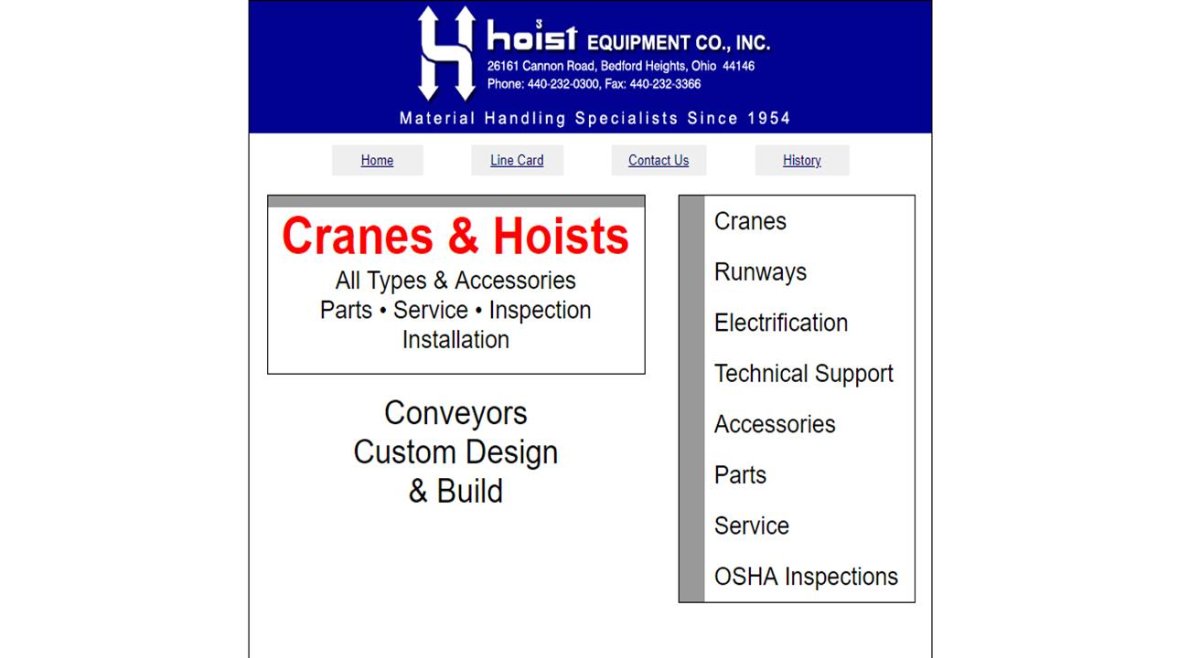 More Crane Manufacturer Listings