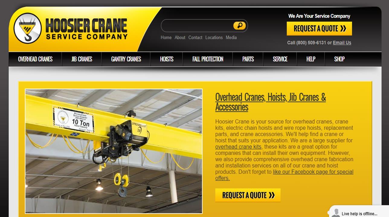 Hoosier Crane Service Company