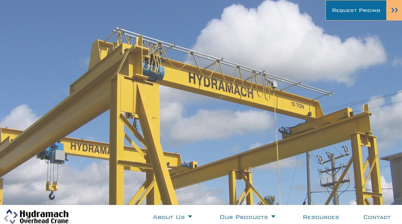 Hydramach Overhead Crane