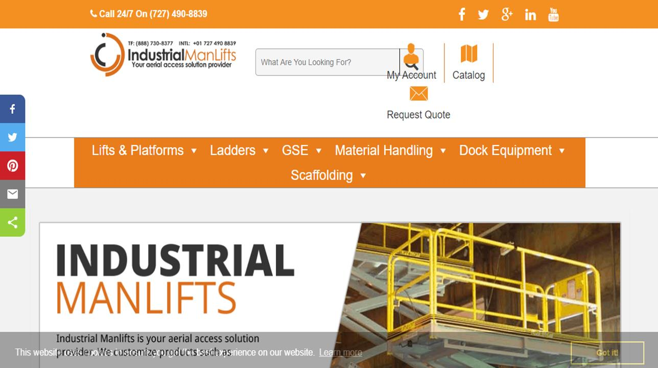 Industrial Man Lifts