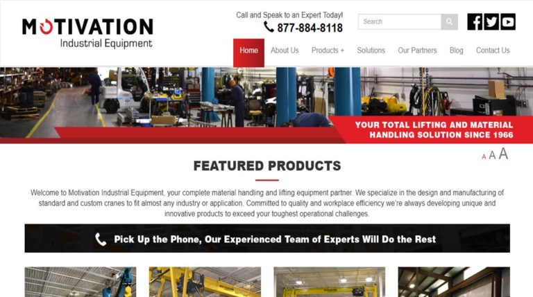 Motivation Industrial Equipment Ltd.