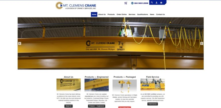 Mt. Clemens Crane & Service Co., Inc.