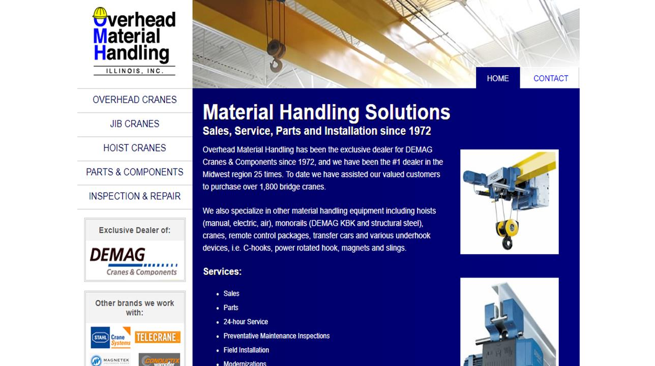 Overhead Material Handling IL, Inc.