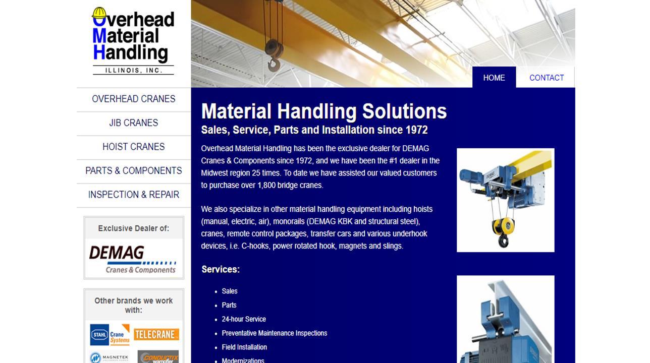 Overhead Material Handling IL, Inc.