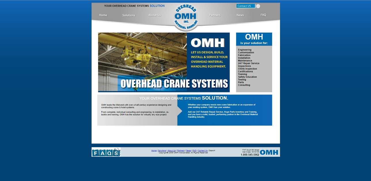 Overhead Material Handling, Inc.