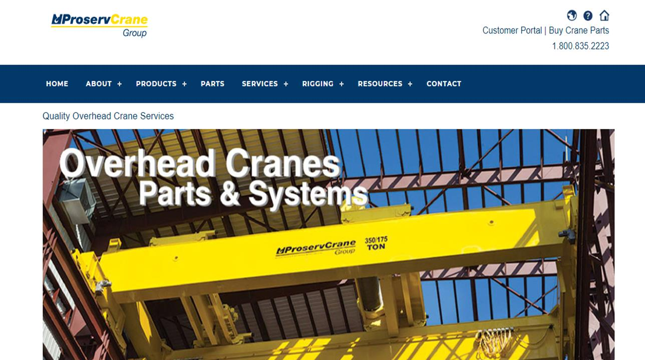 ProservAnchor Crane Group