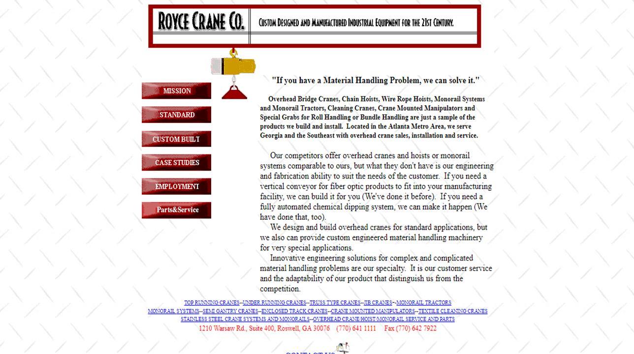Royce Crane Co.