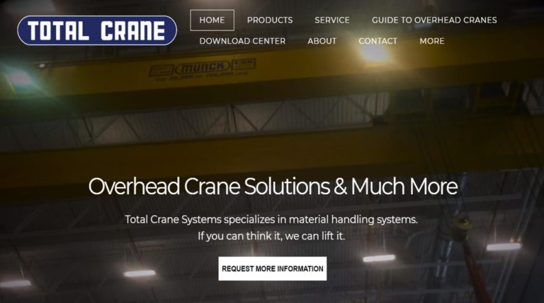 Total Crane Systems Inc.
