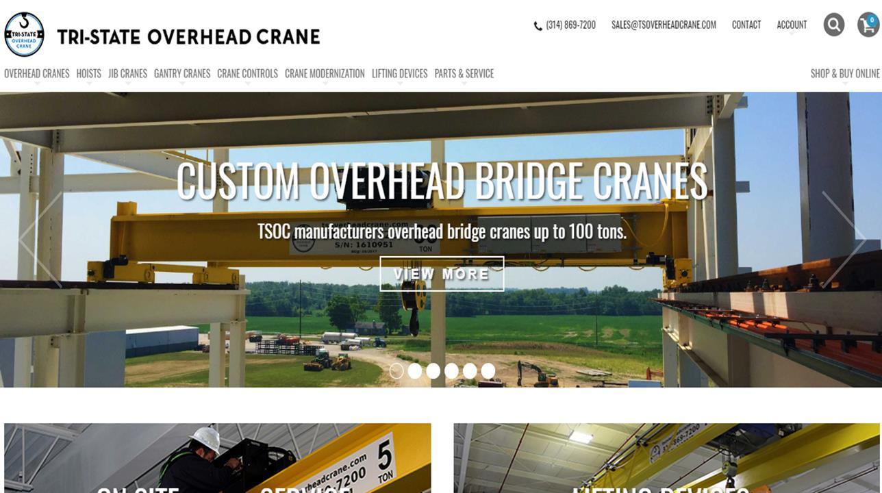 Tri-State Overhead Crane