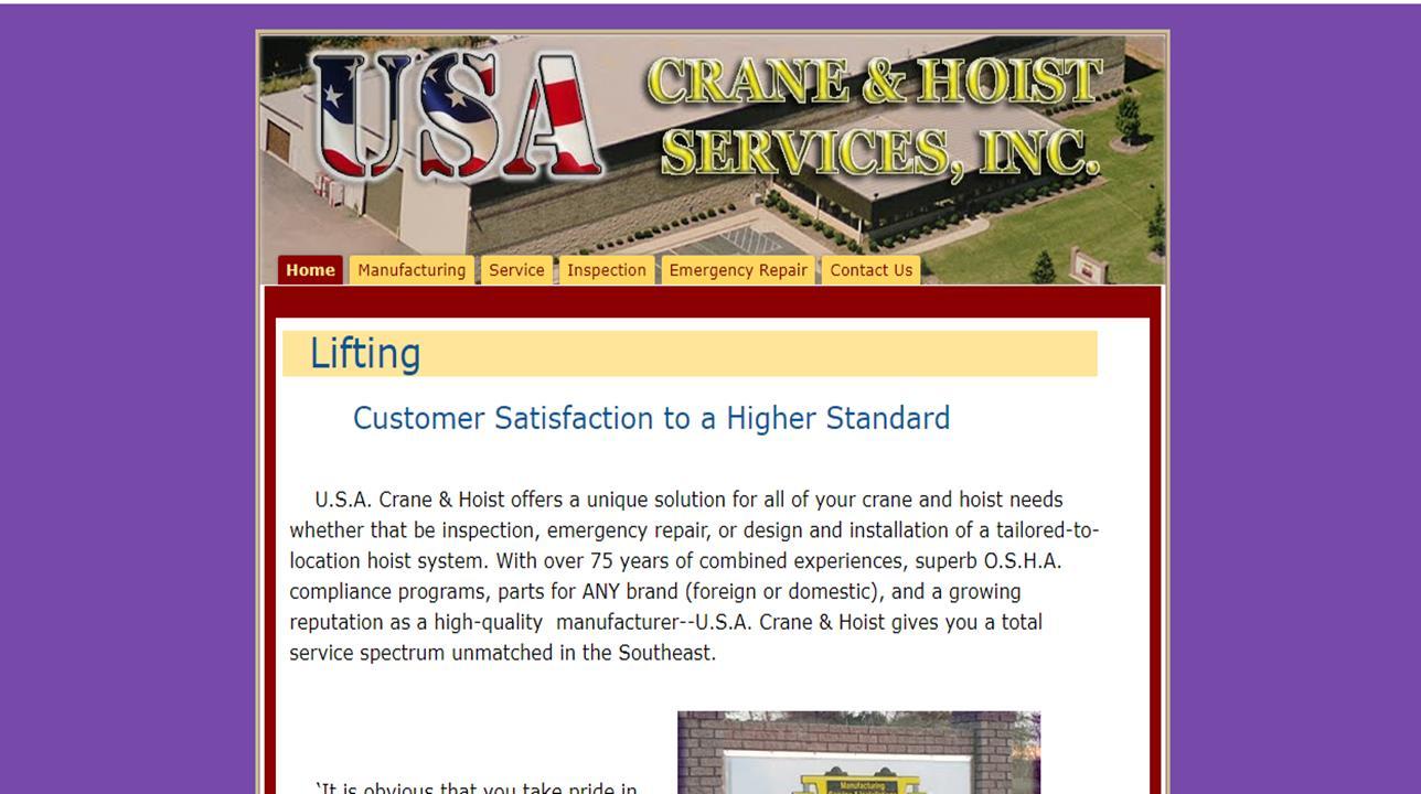 USA Crane & Hoist Services, Inc.