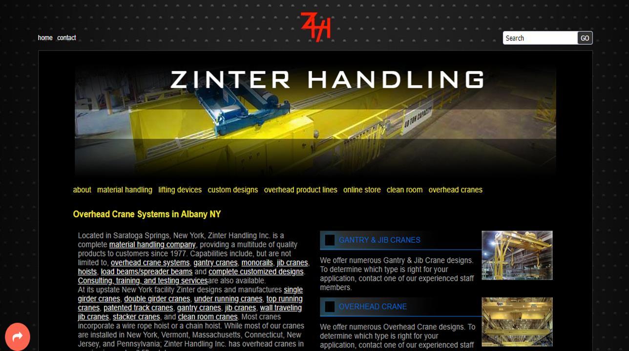 Zinter Handling, Inc.